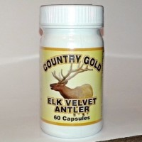 elk velvet antler from Country Gold bottle